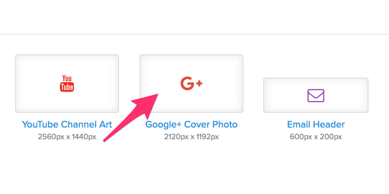 Google+ cover sizes