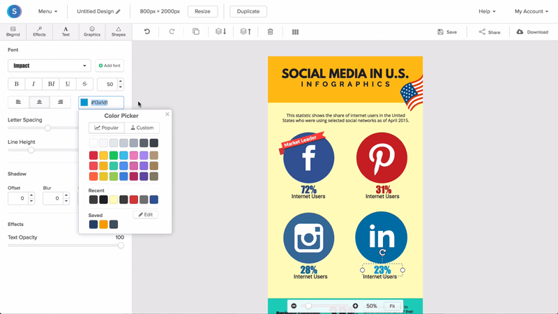 Online Infographic Maker - Free & Easy to Use | Snappa