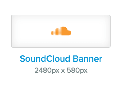 SoundCloud banner size