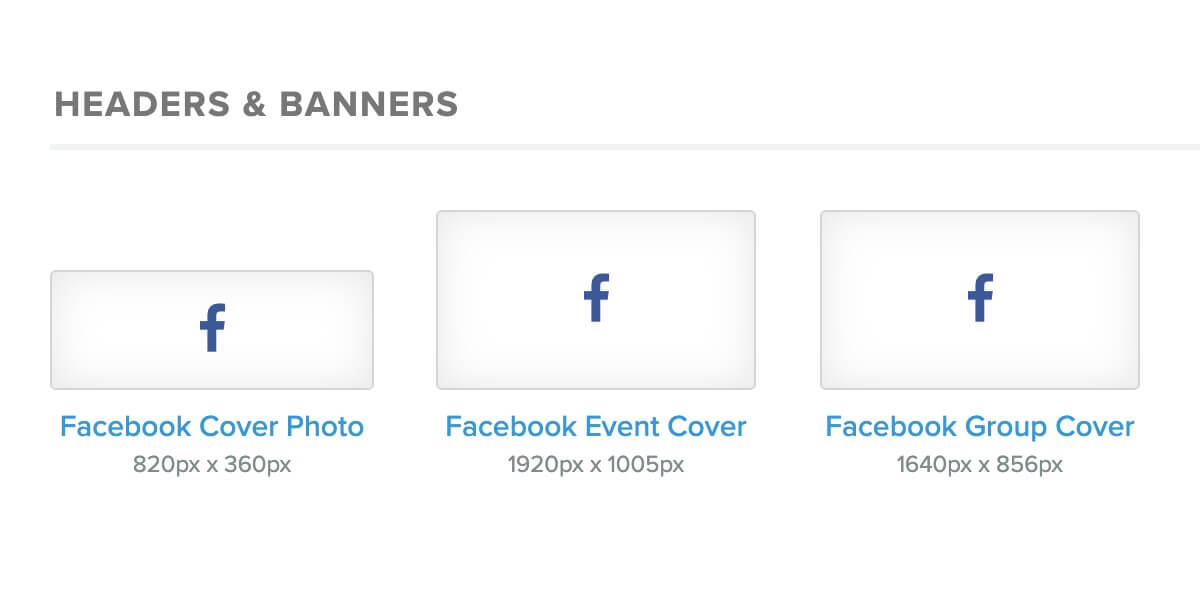 Facebook Cover sizes