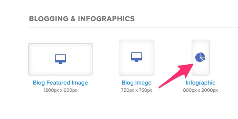 Infographic sizes