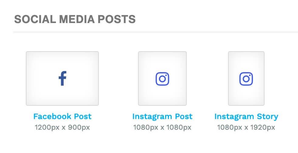 Instagram story sizes