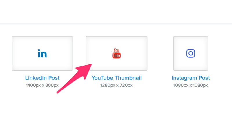 YouTube Thumbnail sizes